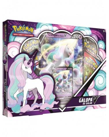 Découvrez le superbe coffret pokémon Galopa de Galar du JCC pokémon chez Cardstoys