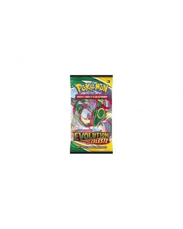 Découvrez les boosters pokémon évolution céleste sur Cardstoys ! Il contiennent 10 cartes a collectionner pokémon
