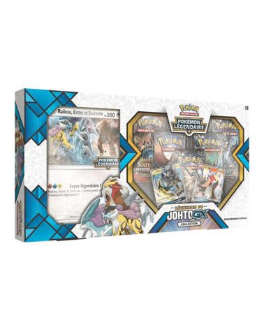 Découvrez le coffret pokémon legendes de Johto sur Cardstoys